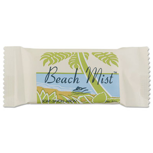 Beach Mist Face and Body Soap, Beach Mist Fragrance, # 3/4 Bar, 1000/Carton (BHMNO34A)