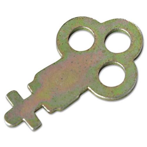 San Jamar Key for Metal Toilet Tissue Dispensers: T800, T1905, T1900, T1950, T1800, R1500 (SJMN13EZ)