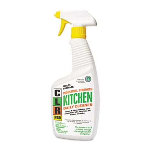 CLR Kitchen Daily Cleaner, Light Lavender Scent, 32oz Spray Bottle (JELKITCHEN32PRO)