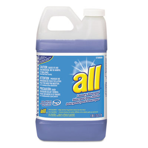 All HE Liquid Laundry Detergent, Original Scent, 64 oz. Bottle, 4/Carton (DVO95769089)