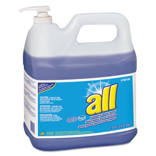 All HE Liquid Laundry Detergent, Original Scent, 2gal Pump Bottle, 2/Carton (DVO95769100)