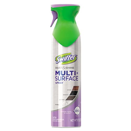 Swiffer Dust & Shine Furniture Polish, Lavender Vanilla Scent, 9.7 oz Aerosol, 6/Carton (PGC81618CT)