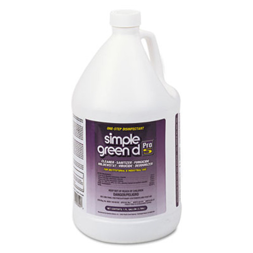 Simple Green d Pro 5 Disinfectant, 1 gal Bottle (SMP30501CT)