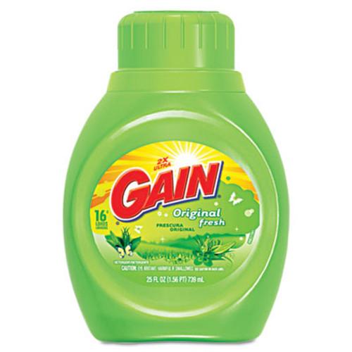 Gain Liquid Laundry Detergent, Original Fresh, 25oz Bottle (PGC12783CT)