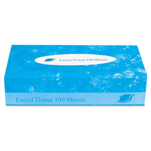 GEN Boxed Facial Tissue, 2-Ply, White, 100 Sheets/Box (GENFACIAL30100)