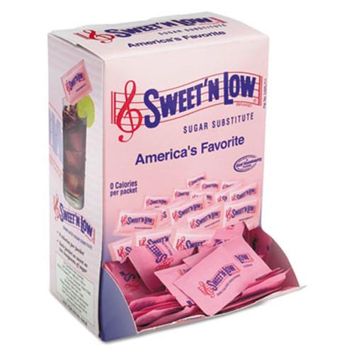 Sweet'N Low Zero Calorie Sweetener, 1 g Packet, 400 Packet/Box, 4 Box/Carton (SMU50150CT)