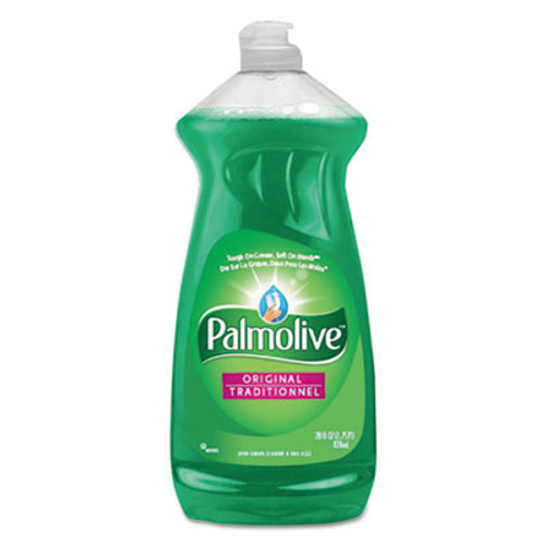 Palmolive Dishwashing Liquid & Hand Soap, Original Scent, 28 oz Bottle, 9/Carton (CPC46303CT)
