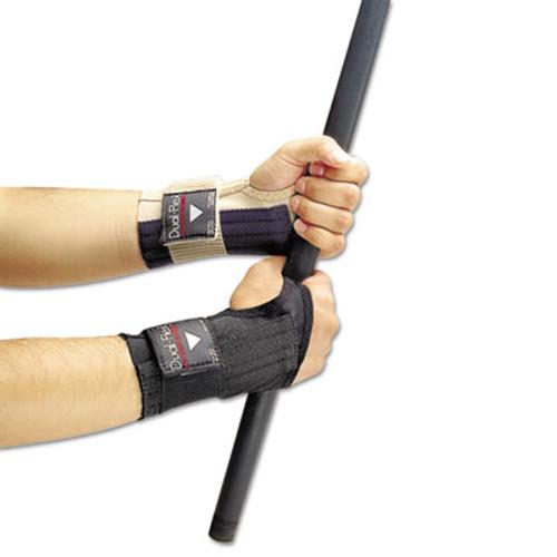 Allegro Dual-Flex Wrist Supports, Large, Nylon, Black (ALG721203)