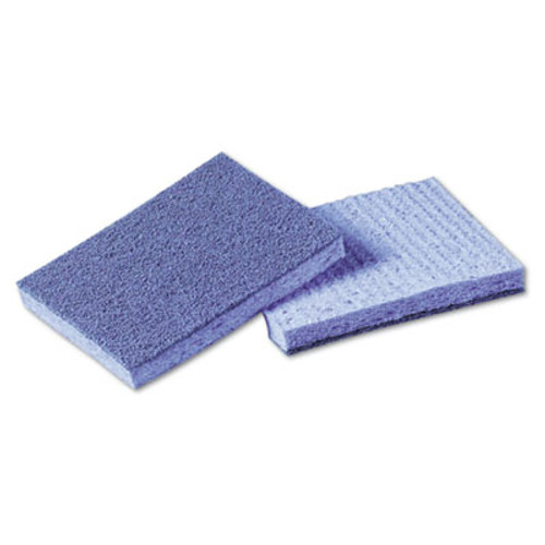 Scotch-Brite PROFESSIONAL Soft Scour Scrub Sponge, 3 1/2 x 5 in, Blue, 40/Carton (MMM9489)