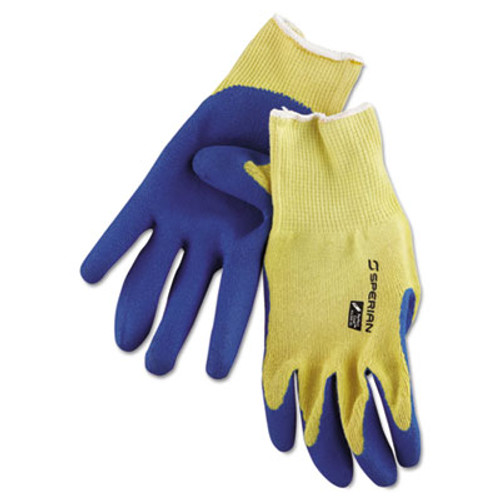 Honeywell Tuff-Coat II Gloves, Blue/White, X-Large, Dozen (HWLKV300XLDZ)