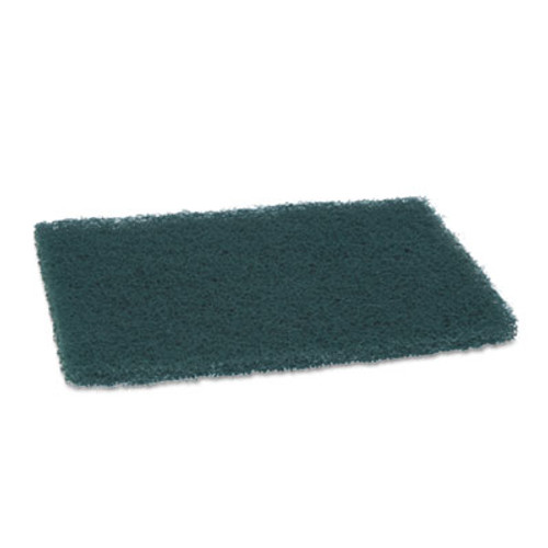"""Scotch-Brite PROFESSIONAL Commercial Heavy Duty Scouring Pad 86, 6"""" x 9"""", Green, 12/Pack, 3 Packs/Carton (MMM86CT)"""