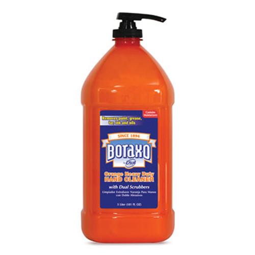 Boraxo Orange Heavy Duty Hand Cleaner, 3 Liter Pump Bottle, 4/Carton (DIA06058CT)