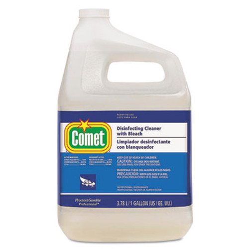 Comet Disinfecting Cleaner w/Bleach, 1 gal Bottle, 3/Carton (PGC24651CT)