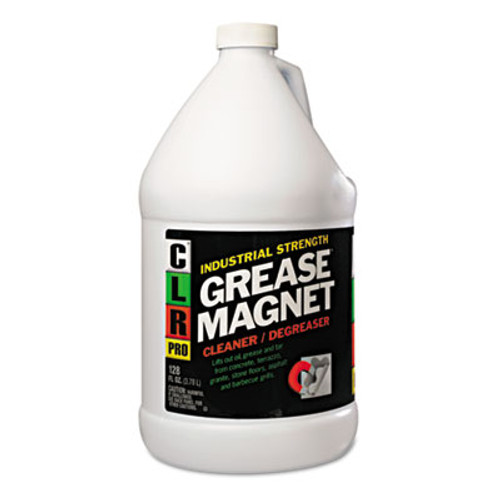 CLR Grease Magnet, 1gal Bottle, 4/Carton (JELGM4PROCT)