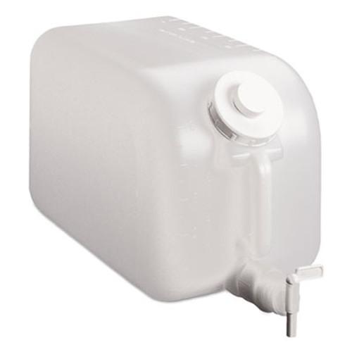 TOLCO Shur-Fill Dispenser, 5 gal, Clear, 8/Carton (TOC03007)