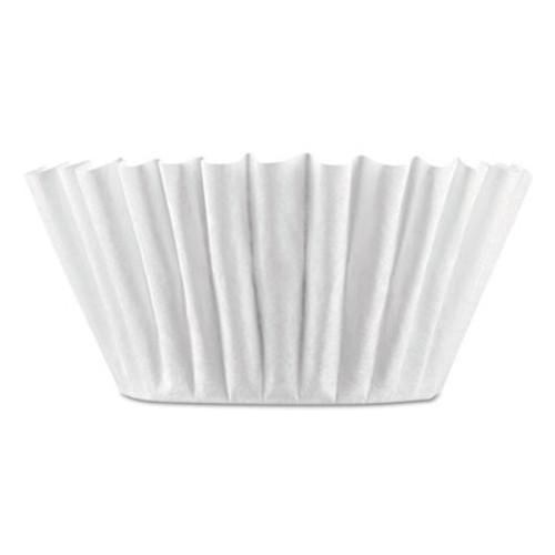 BUNN Coffee Filters, 8/10-Cup Size, 100/Pack, 12 Packs/Carton (BUNBCF100BCT)