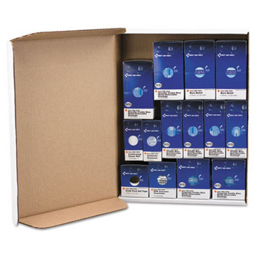 First Aid Only SmartCompliance Restaurant First Aid Cabinet Refill, 214-Pieces (FAOFAE8010)