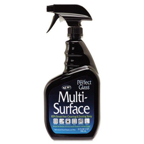 Hope's Perfect Glass Multi-Surface Cleaner, 32oz Bottle (HOC32MS6)