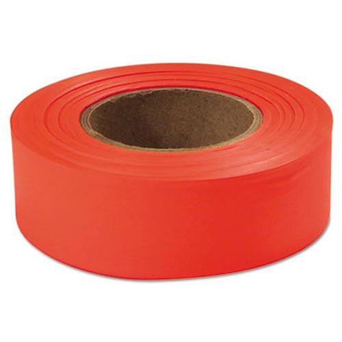 """Empire Flagging Tape, Glo-Orange, 1"""" x 200ft, Plastic (EML77002)"""
