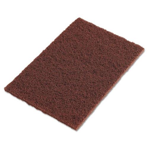 "3M Scotch-Brite Hand Pads, Brown, 9"" x 6"" (MMM04801116553)"
