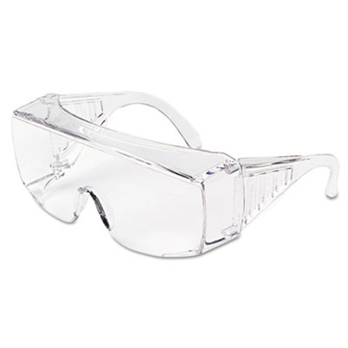 MCR Safety Yukon Uncoated Protective Eyewear, Clear, X-Large (CRW9800XL)