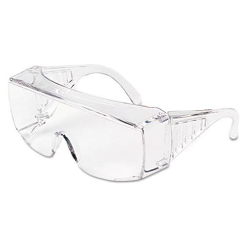 MCR Safety Yukon Uncoated Protective Eyewear, Clear, X-Large (CRW9800XL)