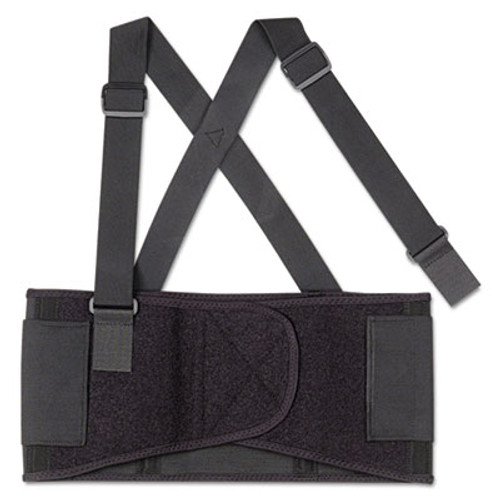 ergodyne ProFlex 1650 Economy Elastic Back Support, Medium, Black (EGO11093)
