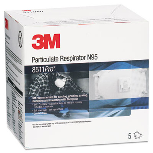 3M 8511PRO N95 Particulate Respirator (MMM8511PRO)