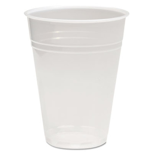 Boardwalk Translucent Plastic Cold Cups, 10oz, 100/Pack (BWKTRANSCUP10PK)