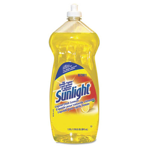 Sunlight Liquid Dish Detergent, Lemon Scent, 38 oz Bottle (DVO95729811EA)