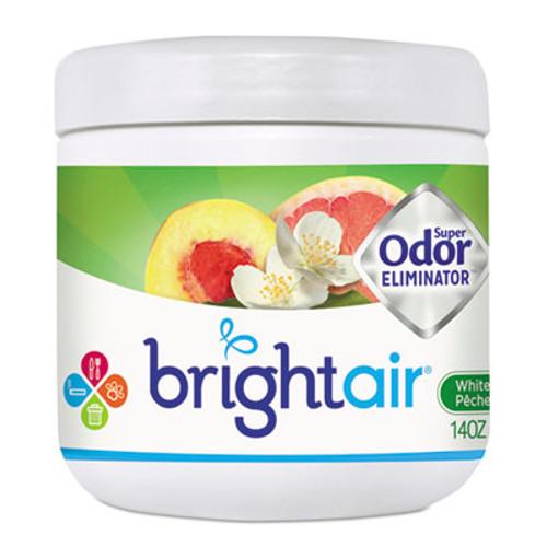 BRIGHT Air Super Odor Eliminator, White Peach and Citrus, 14oz (BRI900133)