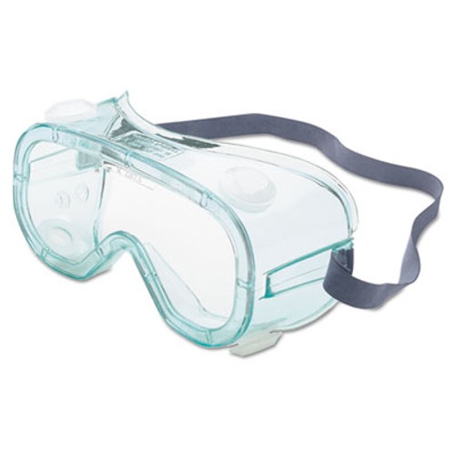 Honeywell A610S Safety Goggles, Indirect Vent, Green-Tint Fog-Ban Lens (UVXA610S)