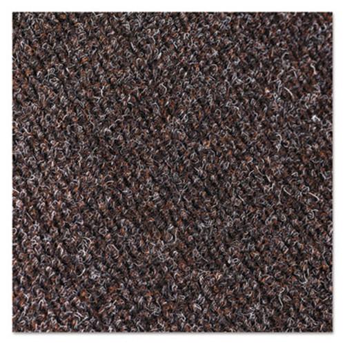 Crown Marathon Wiper/Scraper Mat, Polypropylene/Vinyl, 48 x 72, Dark Brown (CWNMN0046DB)