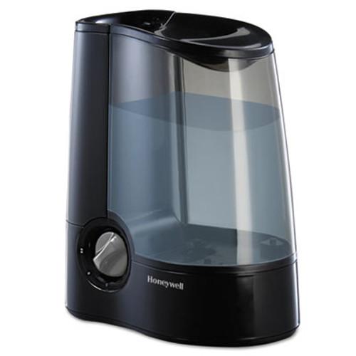 Honeywell Warm Mist Humidifier, Black, 12 7/10w x 7 1/2d x 12 1/5h (HWLHWM705B)