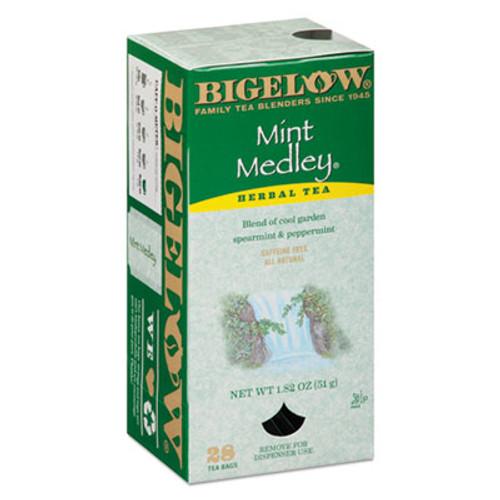 Bigelow Mint Medley Herbal Tea, 28/Box (BTC10393)