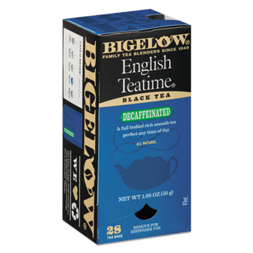 Bigelow Single Flavor Tea Decaf, English Teatime, 28/Box (BTC10357)