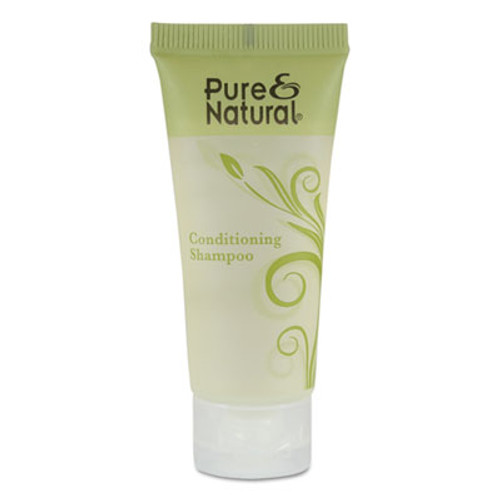Pure & Natural Conditioning Shampoo, Fresh Scent, 0.75 oz, 288/Carton (PNN750)