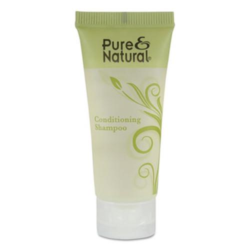 Pure & Natural Conditioning Shampoo, Fresh Scent, 0.75 oz, 288/Carton (PNN750)