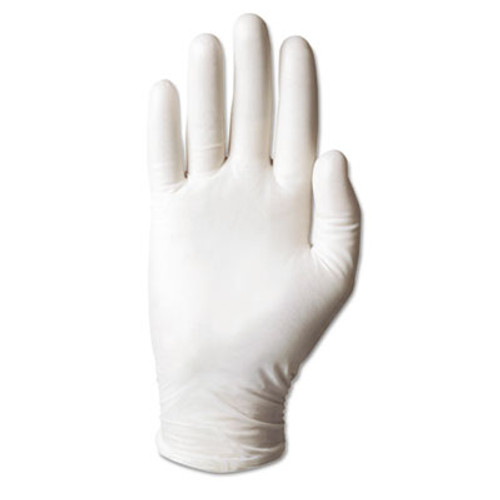 AnsellPro Dura-Touch 5 mil PVC Powdered Gloves, X-Large, Clear, 100/Box (ANS34715XL)