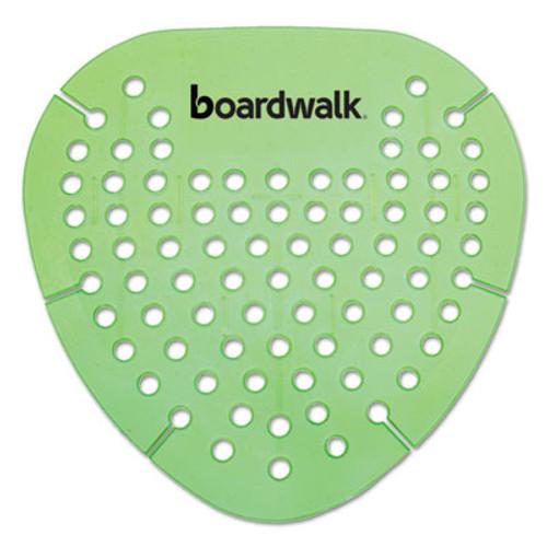 Boardwalk Gem Urinal Screen, Lasts 30 Days, Green, Herbal Mint Fragrance, 12/Box (BWKGEMHMI)