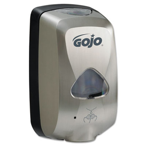 GOJO TFX Touch Free Dispenser, 1200mL , Brushed Metallic (GOJ279912EEU00)