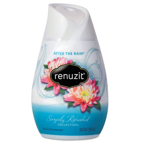 Renuzit Adjustables Air Freshener, After the Rain Scent, Solid, 7 oz, 12/Carton (DIA03663CT)
