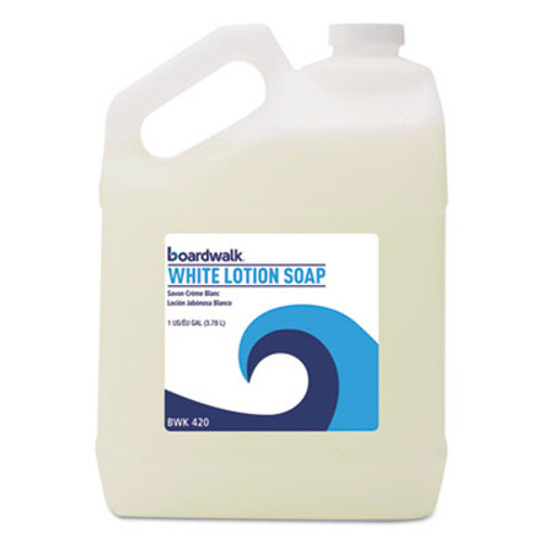 Boardwalk Mild Cleansing Lotion Soap, Floral Scent, Liquid, 1gal Bottle (BWK420EA)