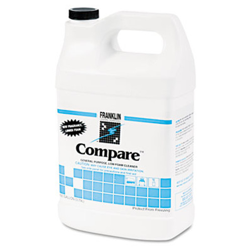 Franklin Cleaning Technology Compare Floor Cleaner, 1gal Bottle, 4/Carton (FKLF216022CT)
