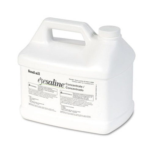 Honeywell Fendall Eyesaline Stream II Eyewash Station Refill, 180 oz Bottles, 4/Carton (FND320005130000)