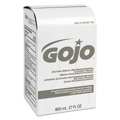 GOJO Ultra Mild Lotion Soap w/Chloroxylenol Refill, Floral Balsam, 800mL (GOJ921212EA)