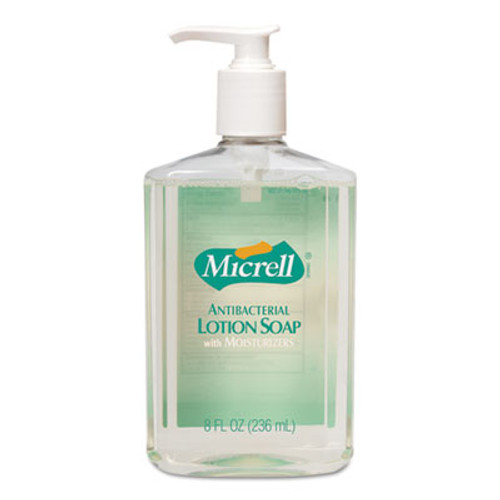 MICRELL Antibacterial Lotion Soap, Light Scent, 8oz Pump (GOJ975212EA)