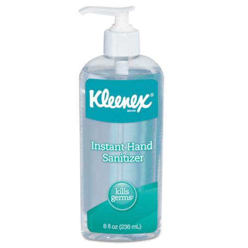 Kleenex Instant Hand Sanitizer, 8 oz, Pump Bottle, Sweet Citrus (KCC93060EA)