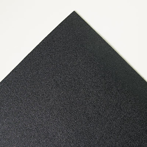 3M Safety-Walk Cushion Mat, Antifatigue & Antimicrobial, Vinyl, 36 x 60, Black (MMM34826)