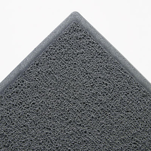 3M Dirt Stop Scraper Mat, Polypropylene, 36 x 60, Slate Gray (MMM34838)